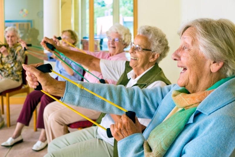Elderly exercises